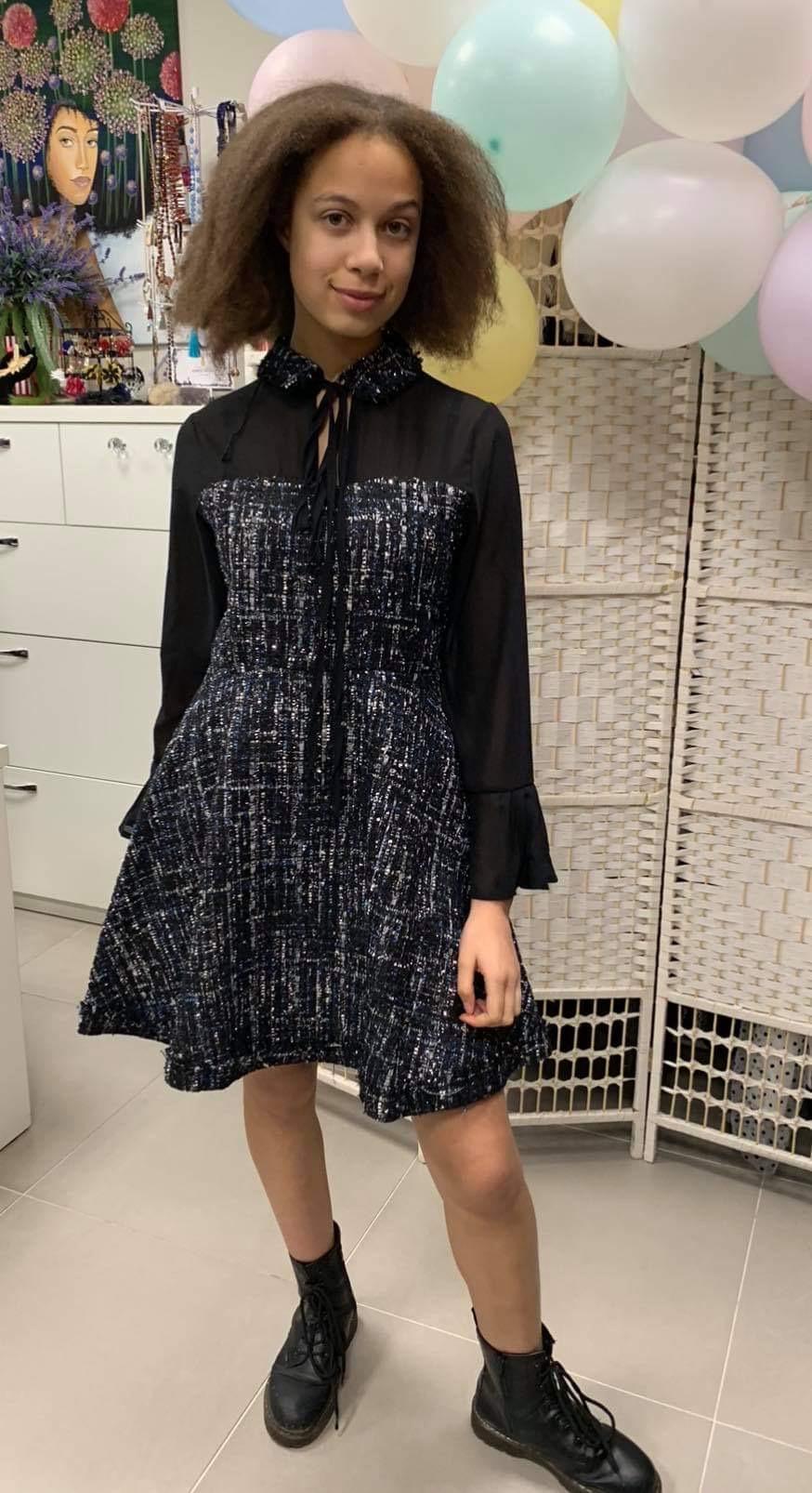 Búklè audinio suknelė