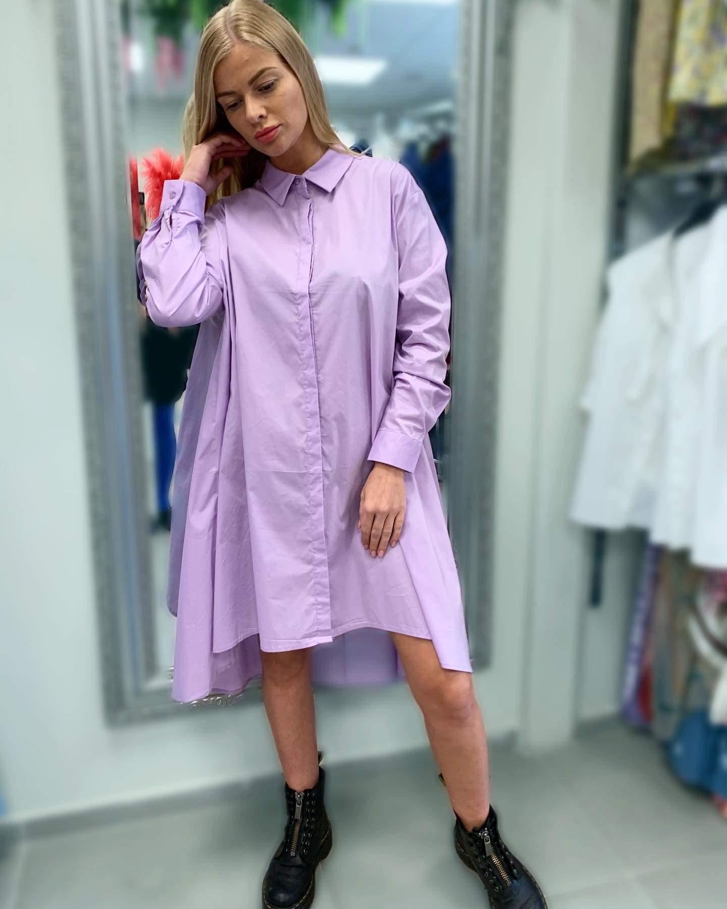 Stilinga varpelio formos marśkiniú tunika suknelė