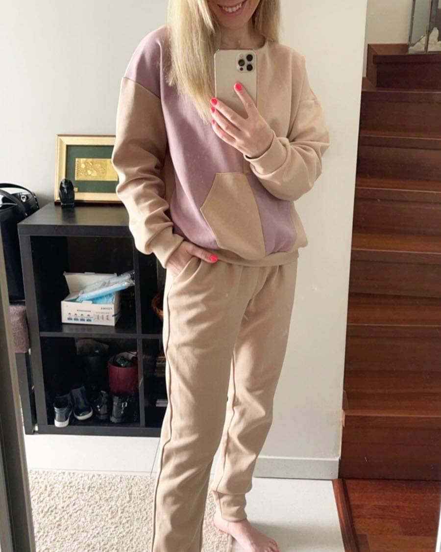 Stilingas nude/alyvú MS kostiumèlis
